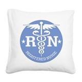 Registered nurse Square Canvas Pillows