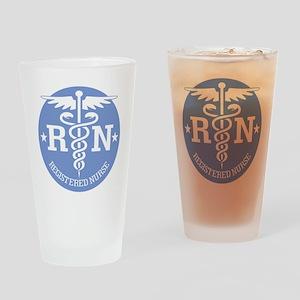 Caduceus RN 2 Drinking Glass