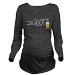 Beer-volution (eng) Long Sleeve Maternity T-Shirt