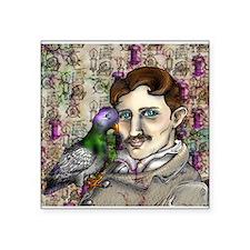 Bird and Tesla Sticker