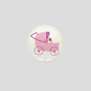 Baby Stroller Mini Button
