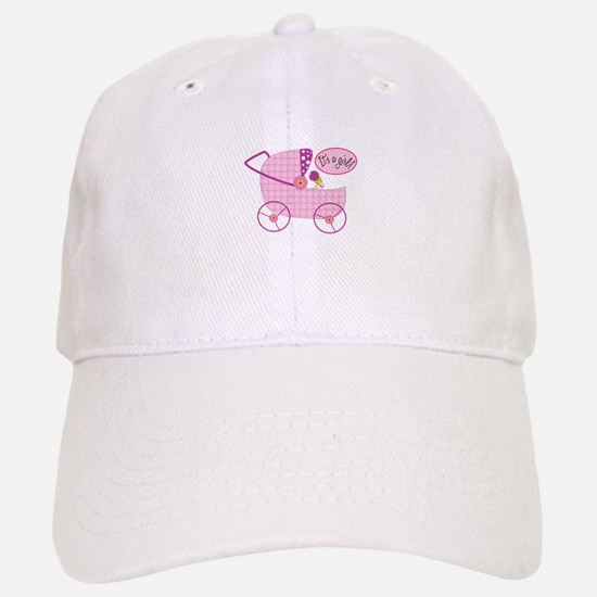 Its A Girl! Baseball Baseball Baseball Cap