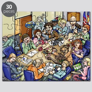 Bored Meeting Puzzle