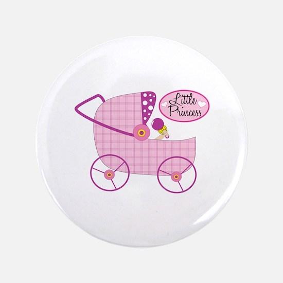 "Little Princess 3.5"" Button"