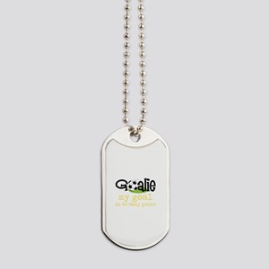 My Goal Is To Deny Yours Dog Tags