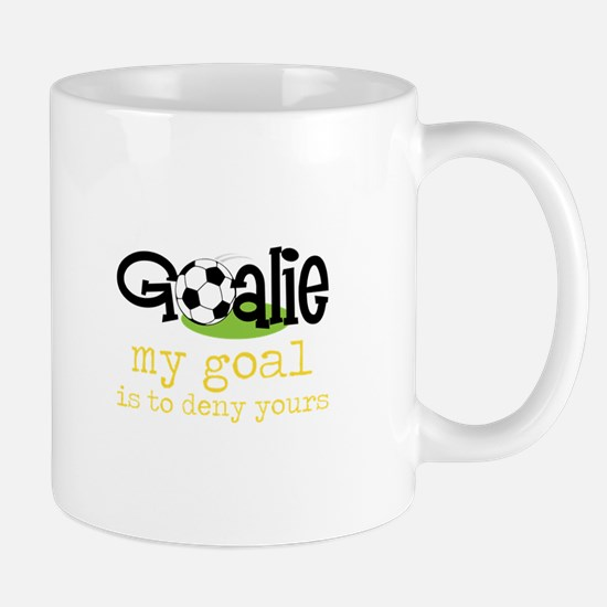 My Goal Is To Deny Yours Mugs