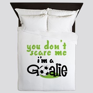 Im A Goalie Queen Duvet