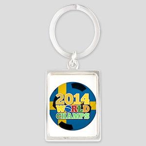 2014 World Champs Ball - Sweden Keychains