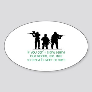 Our Troops Sticker