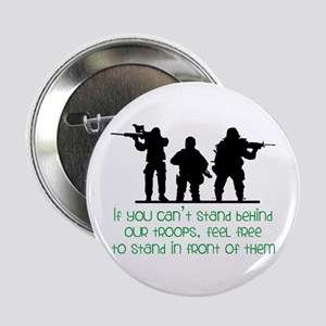 """Our Troops 2.25"""" Button"""