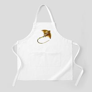 Gold Manta Sting Ray Apron