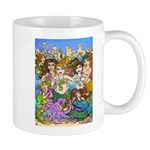 Don't Mess with Mermaids Mugs