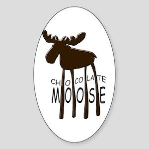 Chocolate Moose Sticker