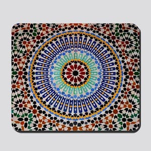 moroccan mosaic Mousepad