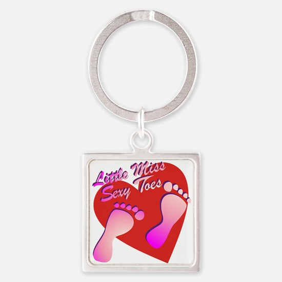 Little Miss Sexy Toes Keychains