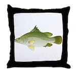 Nile Perch Throw Pillow