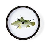 Nile Perch Wall Clock