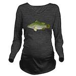 Nile Perch C Long Sleeve Maternity T-Shirt