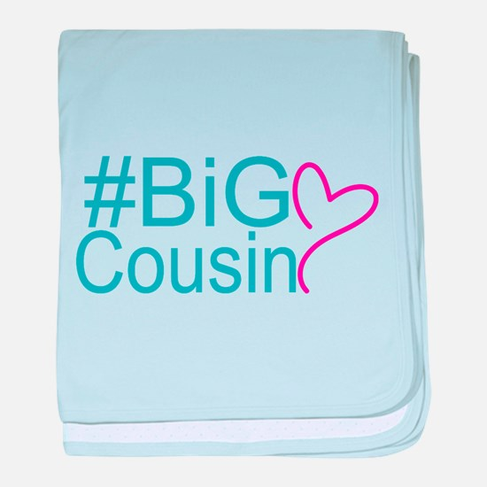 Big Cousin - Hashtag baby blanket