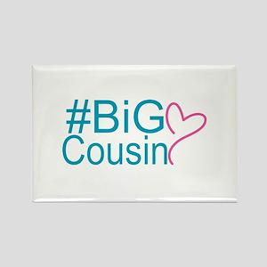 Big Cousin - Hashtag Rectangle Magnet (10 pack)