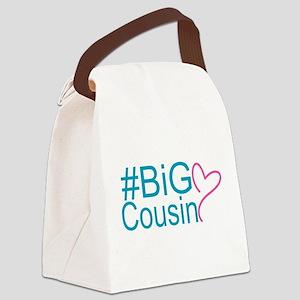 Big Cousin - Hashtag Canvas Lunch Bag