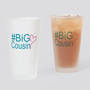 Big Cousin - Hashtag Drinking Glass