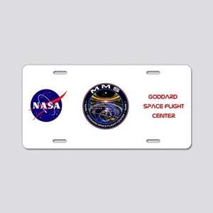 Magnetospheric Multiscale Aluminum License Plate