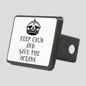 Keep Calm and Save The Oce Rectangular Hitch Cover