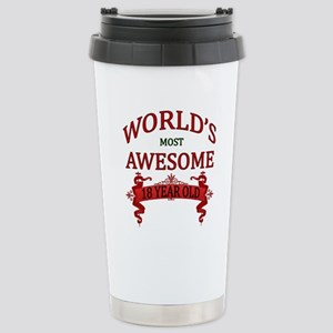 World's Most Awesome 18 Stainless Steel Travel Mug