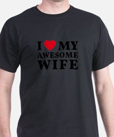 Cute Red black wedding T-Shirt