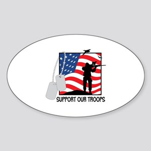 Support Our Troops! Sticker