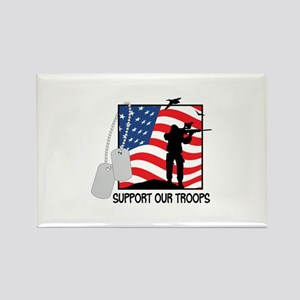 Support Our Troops! Magnets
