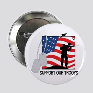 "Support Our Troops! 2.25"" Button"