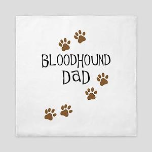 Bloodhound Dad Queen Duvet