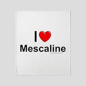 Mescaline Throw Blanket