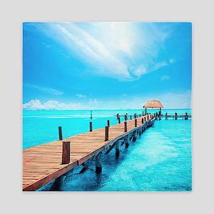 Tropical Paradise Queen Duvet