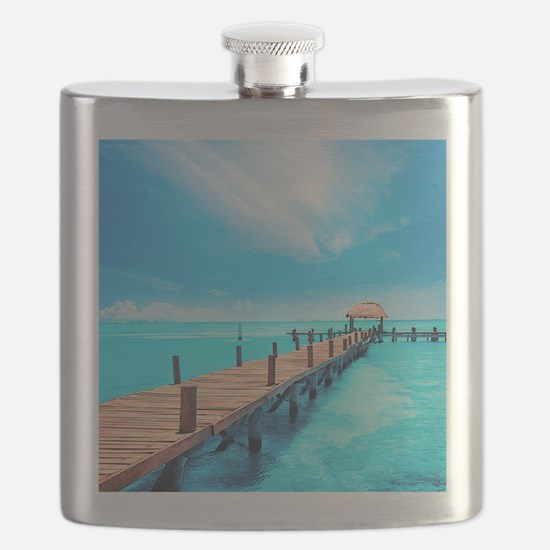 Tropical Paradise Flask