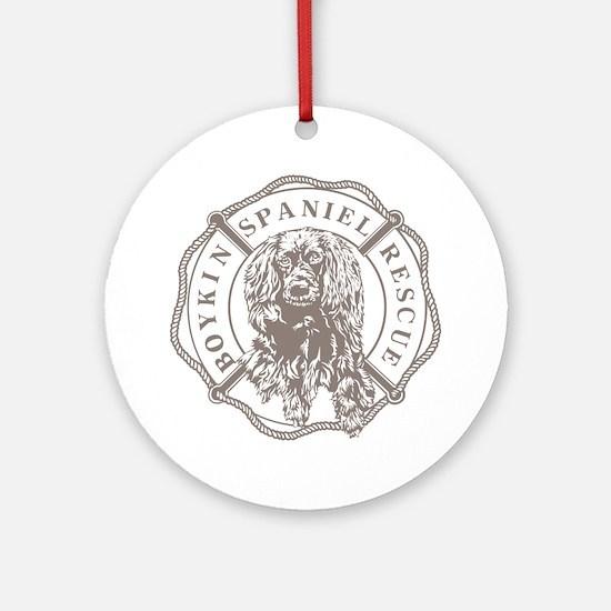 Unique Boykin spaniel Round Ornament