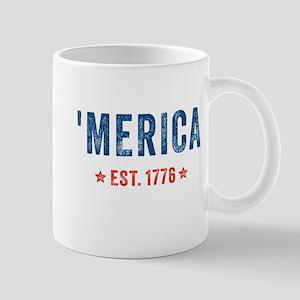 'Merica Est. 1776 Mugs
