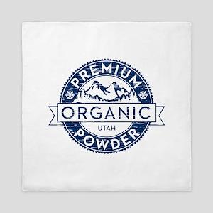 Organic Utah Powder Queen Duvet