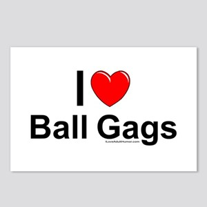 Ball Gags Postcards (Package of 8)