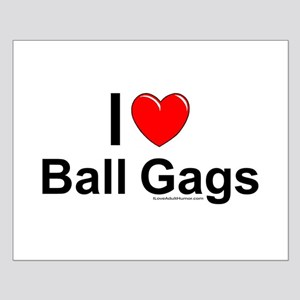 Ball Gags Small Poster