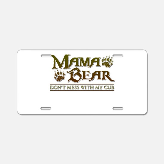 Unique Mom Aluminum License Plate
