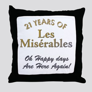 The Miserable Throw Pillow