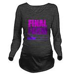 Loading Final Form Long Sleeve Maternity T-Shirt