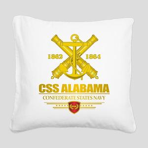 CSS Alabama Square Canvas Pillow