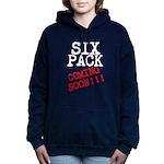 Six Pack Coming Soon Women's Hooded Sweatshirt
