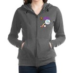 Guys Only Think About Sex Women's Zip Hoodie