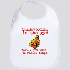 Shadowboxing in the gym Bib