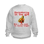 Shadowboxing in the gym Sweatshirt